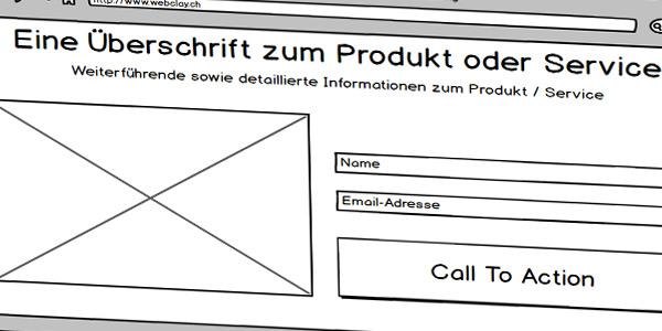 Landing Page Kritik