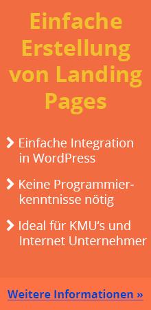 Einfache Landing Pages erstellen